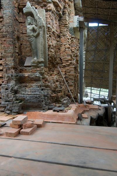 Preah Ko Temple Preservation in Cambodia