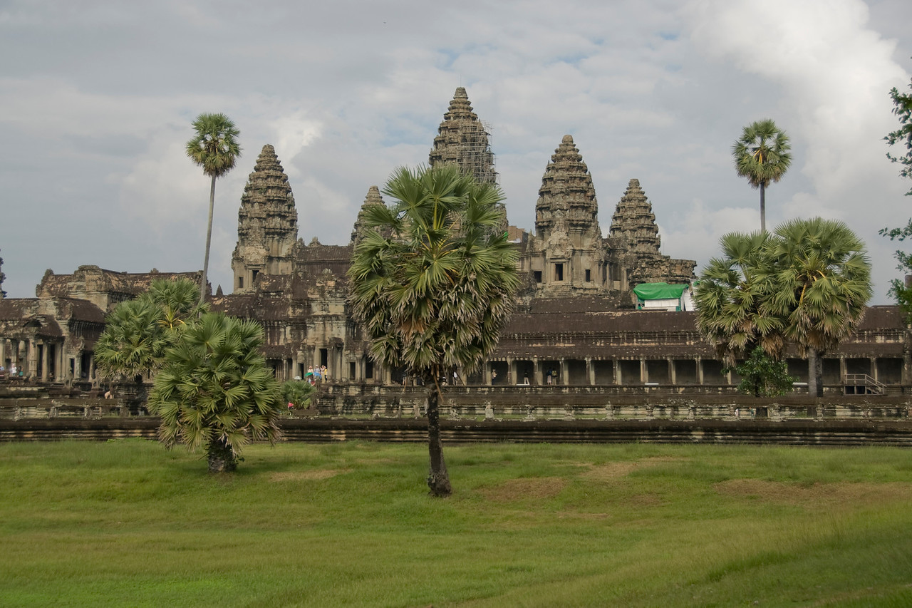 Landscape outside of Angkor Wat Temple