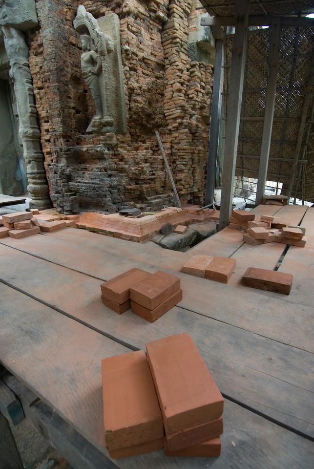 Preservation of the Preah Ko Temple in Cambodia