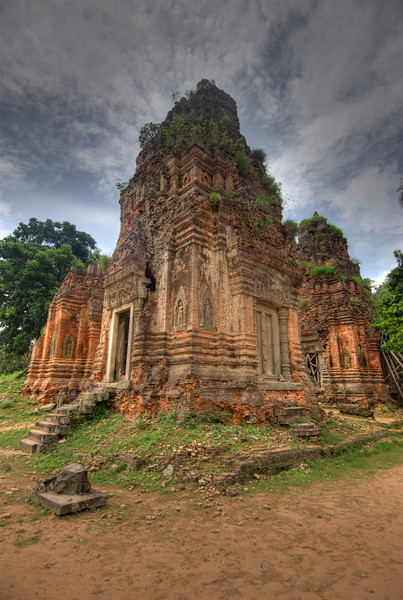A shot of Lolie Temple in Cambodia