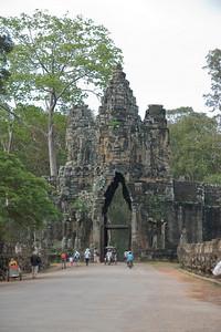 East Gate in Angkor Thom