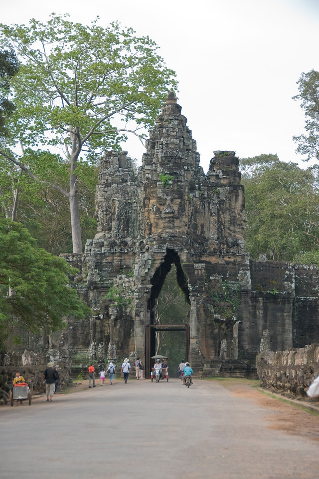 East Gate in Angkor Thom