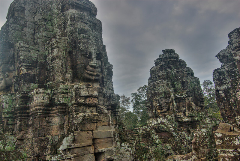 Faces at the Bayon Temple