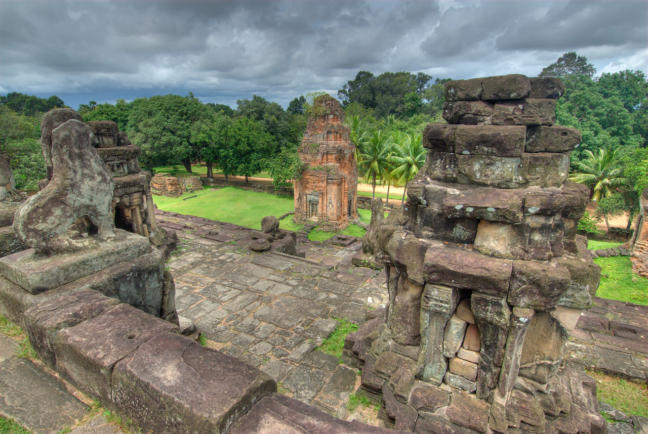 Panoramic view of Angkor Wat