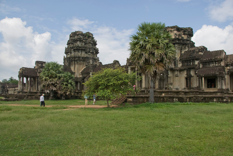 View outside the Angkor Wat complex