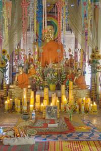 Buddha at Wat Atweta, Cambodia