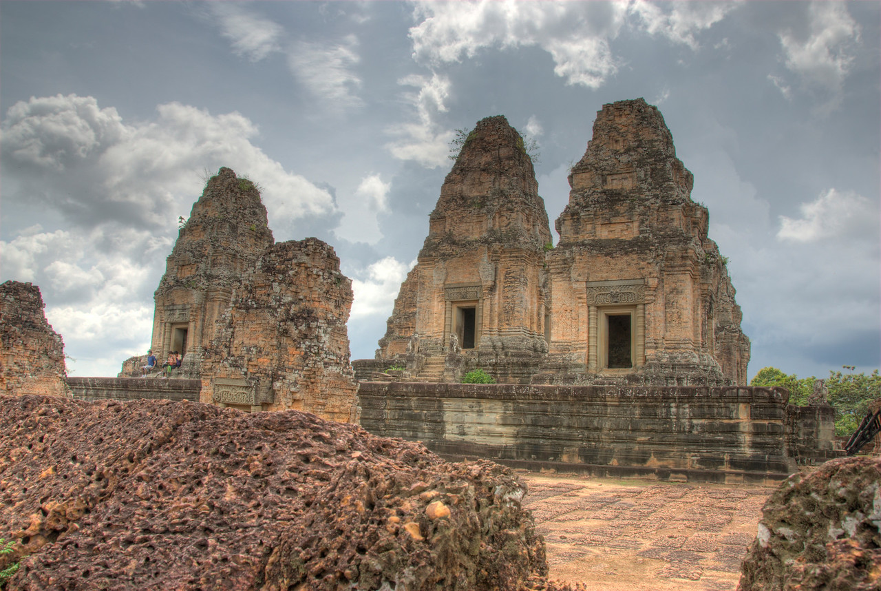 Towers inside the Angkor Wat Temple