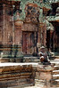 Siem Reap - Banteay Srei - Close-up