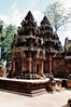 Siem Reap - Banteay Srei - Central Towers 1