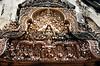 Siem Reap - Banteay Srei - Tomb Lintel Ornamentation