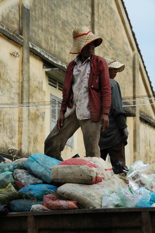 Garbage Scavengers - Battambang, Cambodia
