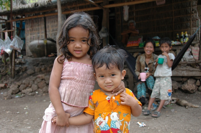 Village Kids - Battambang, Cambodia