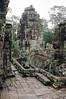 Siem Reap - Bayon - Upper Level walk