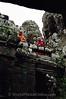 Siem Reap - Bayon - Buddhist Monks