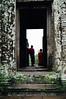 Siem Reap - Bayon - Buddhist Monks 2