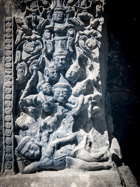 Hindu figures.