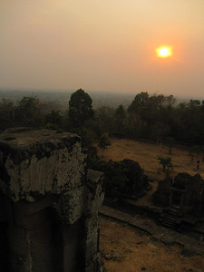 Sunset on the Temples