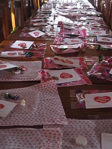 Preparing the Valentines