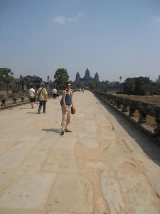 Angkor Wat and the Moat