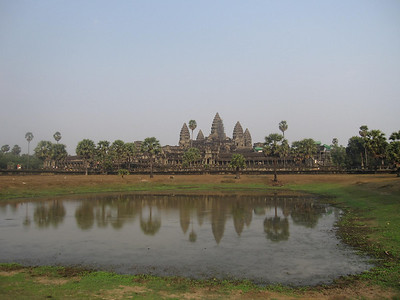 Angkor Wat and the Lilly Lake