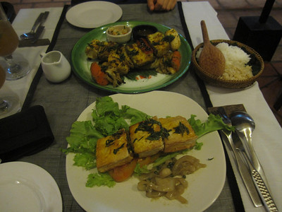 Our Gormet Dinner