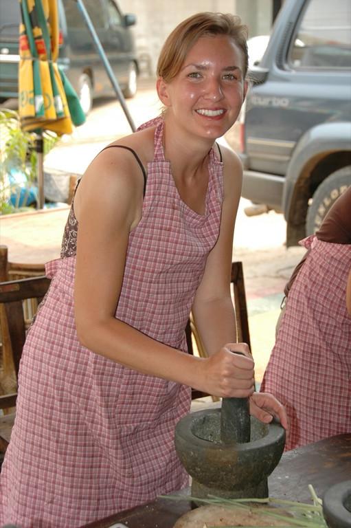 Making Curry Paste - Battambang, Cambodia