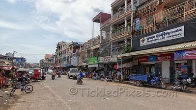 Downtown Kampot