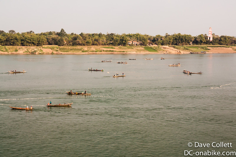 Fishing on the Mekong at Kampong Cham