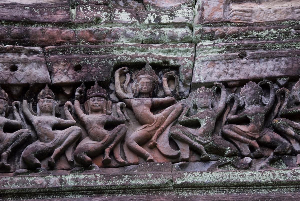 Bas Relief, Angkor, Cambodia