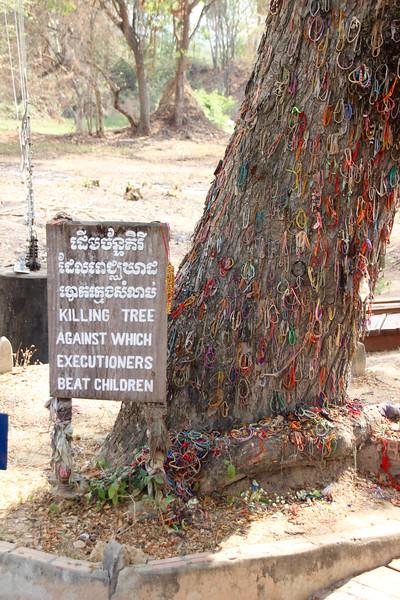 Cambodia Killing Tree