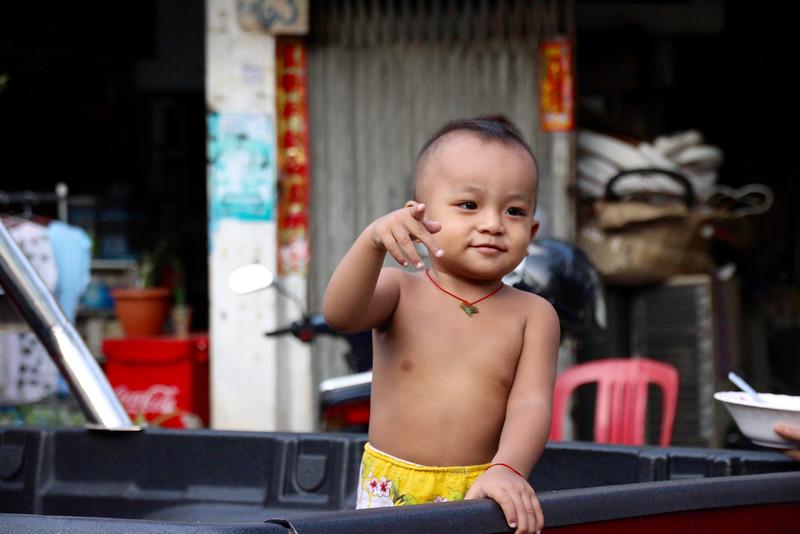 Child in Phenom Penh - Intrepid Travel Cambodia - Review: Cambodian Traveler