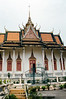 Phnom Penh - Silver Pagoda - Silver Pagoda Entry