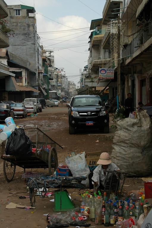 Phnom Penh Back Streets - Phnom Penh, Cambodia