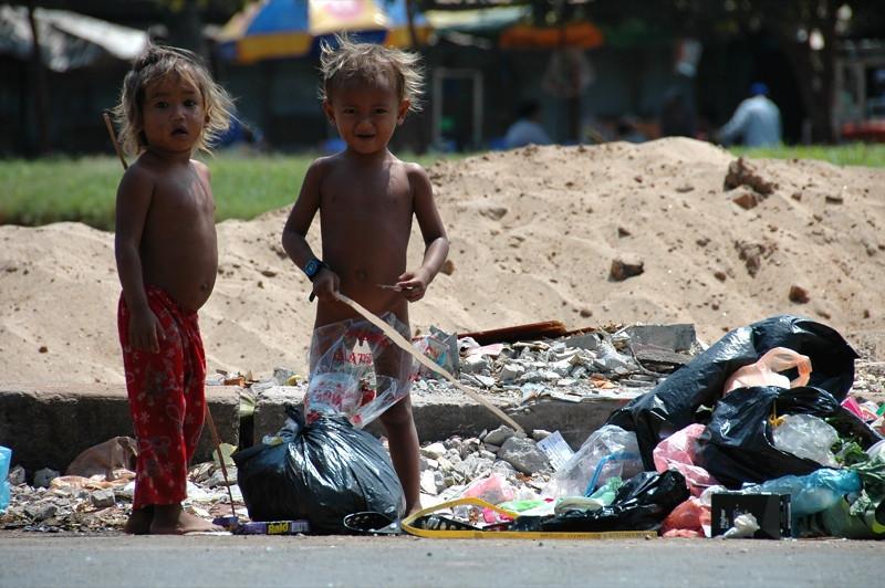 Kids on the Street - Phnom Penh, Cambodia