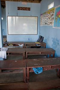 Shot inside the orphanage classroom of Phnom Penh, Cambodia