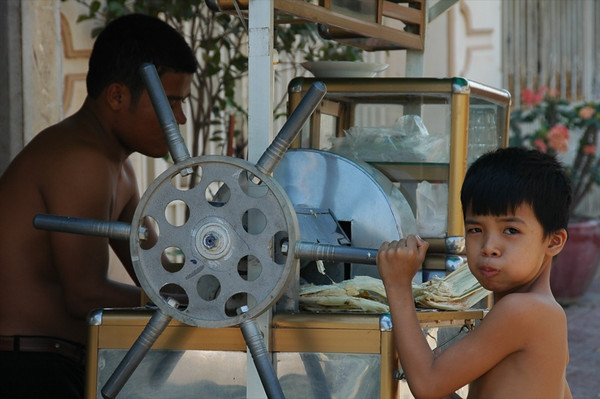Sugar Cane Juice - Phnom Penh, Cambodia