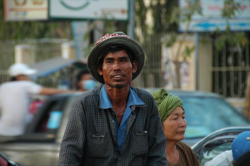 Cyclo Driver - Phnom Penh, Cambodia