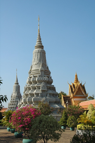 Royal Palace Grounds - Phnom Penh, Cambodia