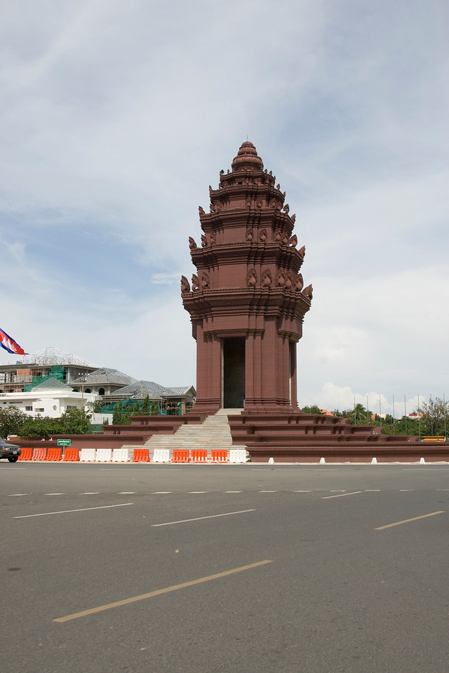 Shot of the Democracy Monument from a different angle
