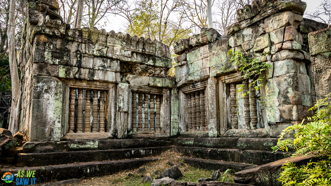 Koh Ker is rarely visited.