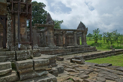 A shot of the wing in Middle Ruins of Preah Vihear Temple