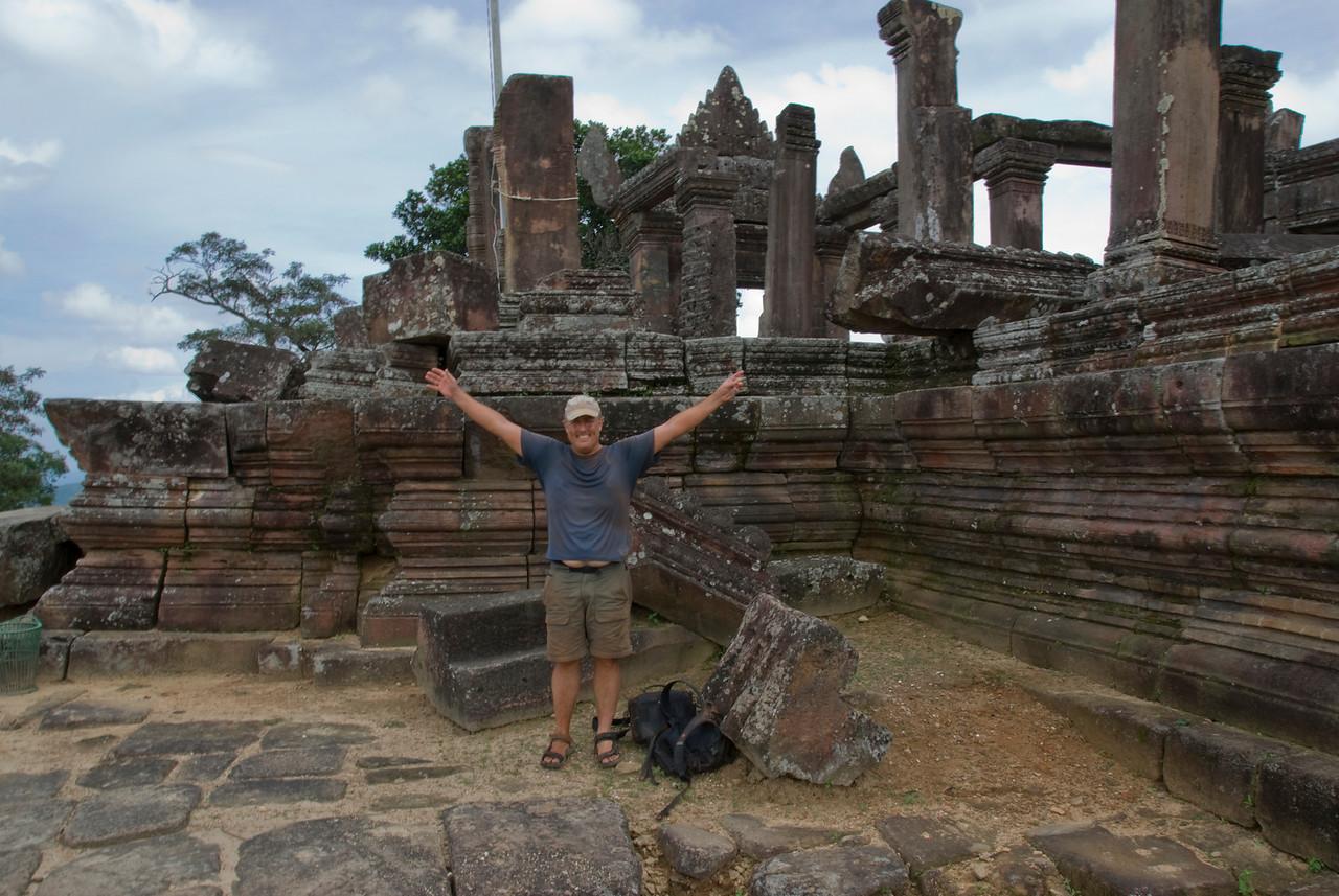 Portrait at the Preah Vihear Temple