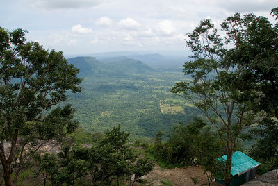 Bird's eye view from Preah Vihear Temple, Cambodia