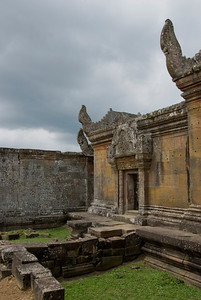 Details of ruins in Middle Wing of Preah Vihear Temple