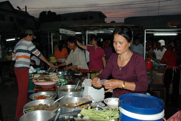 Street Food Market - Siem Reap, Cambodia