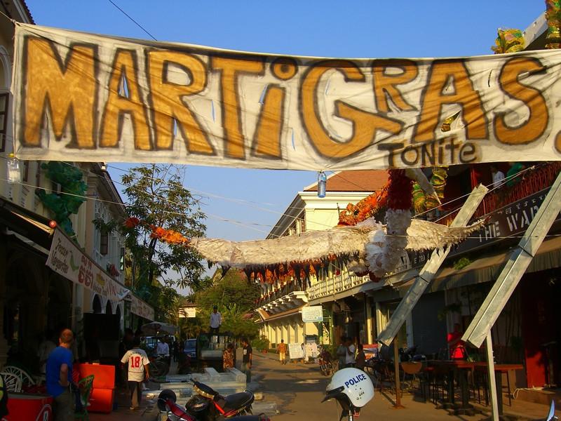 Marti Gras - Siem Reap, Cambodia
