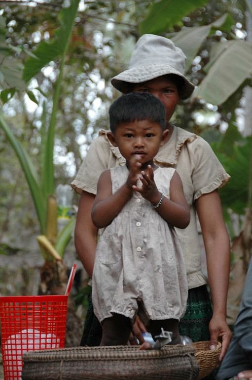 Mother and Son - Siem Reap, Cambodia