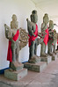 Siem Reap - Angkor Conservitory - Statues of Buddha and Vishnu