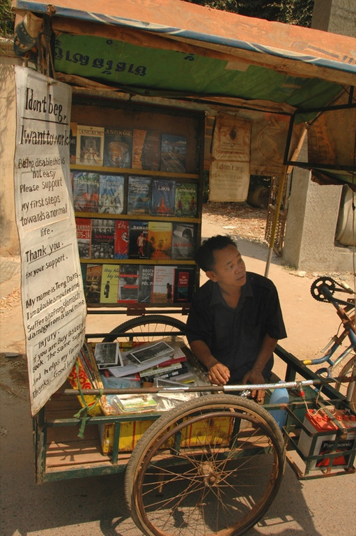 Book Vendor - Siem Reap, Cambodia