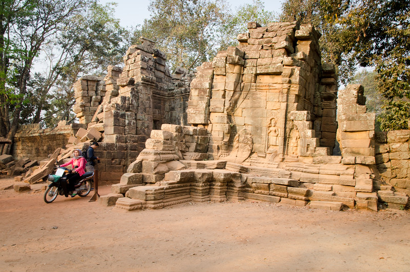 The eastern gate at Ta Prohm.